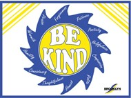 Be Kind Sign Fundraiser Design by Savannah David