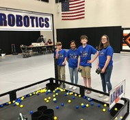 Championship MS Robotics Team