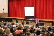 Superintendent Mark Gleichauf Delivers Convocation Keynote
