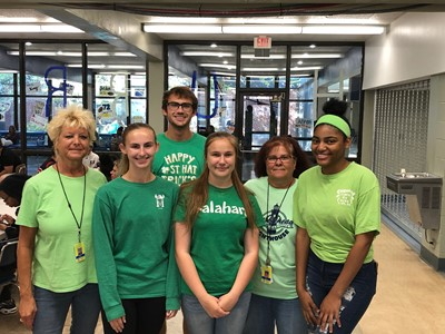 BHS Students in Support of Start with Hello Campaign