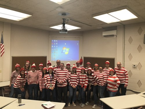 BHS Staff Where's Waldo Costumes