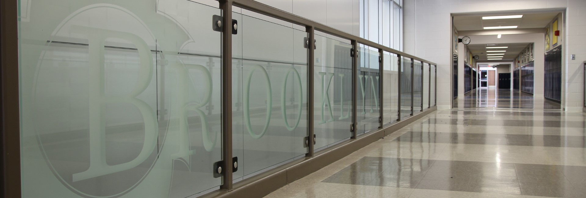 Brooklyn Intermediate School Glass Railing
