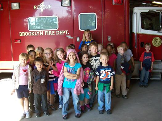 First Grade Visits the Firehouse 10/2011